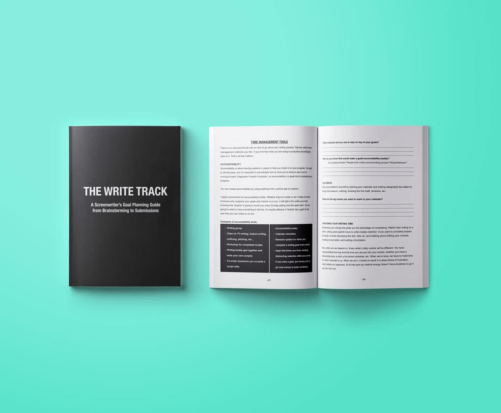The Write Track – Screenwriter workbook Giveaway